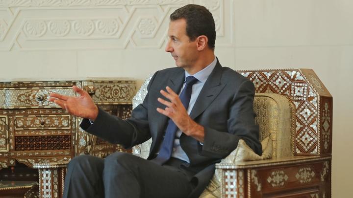 США построены на бандитских группировках: Асад о том, почему Америка соблазнилась нефтью Сирии