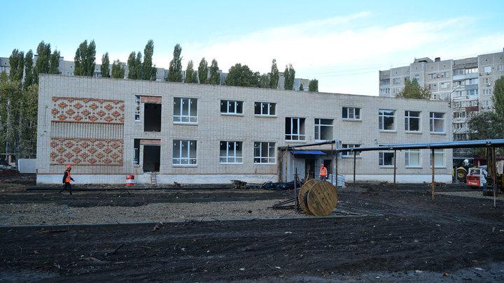 В микрорайоне Гидростроителей Краснодара обновленный детсад планируют открыть в конце года