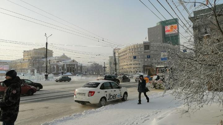 На площади Революции в Челябинске пожар: дым валит из подземного перехода