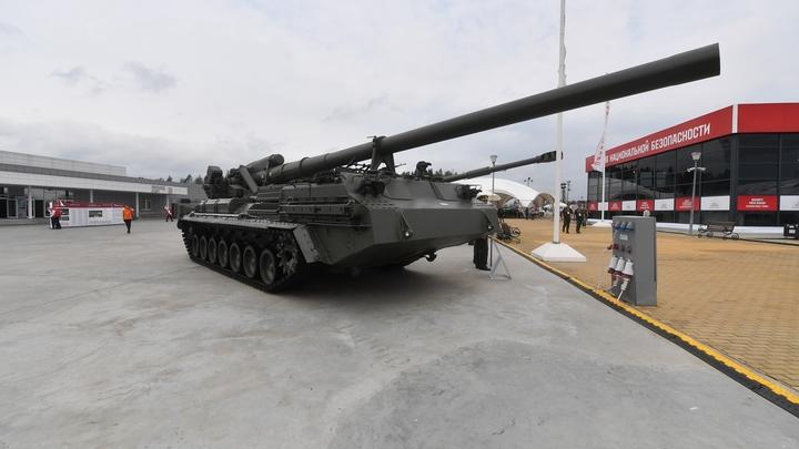 Артиллерийская установка заблокировала выезд из Академгородка в Новосибирске