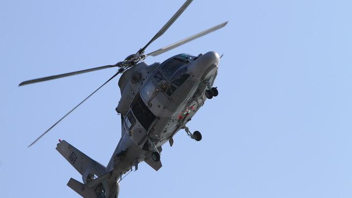 В Японии разбился военный вертолет