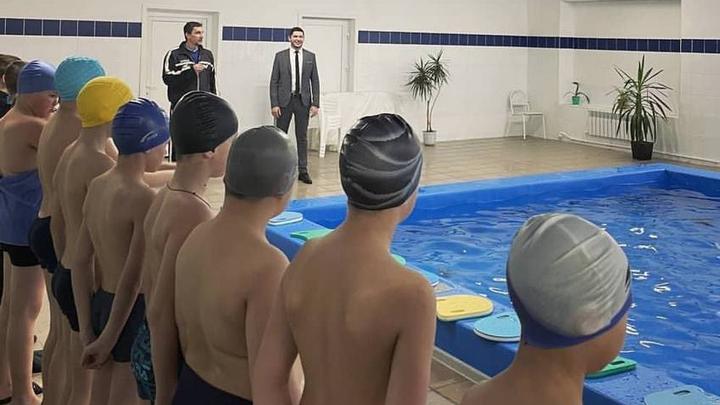 Во владимирской школе №48 открылся бассейн