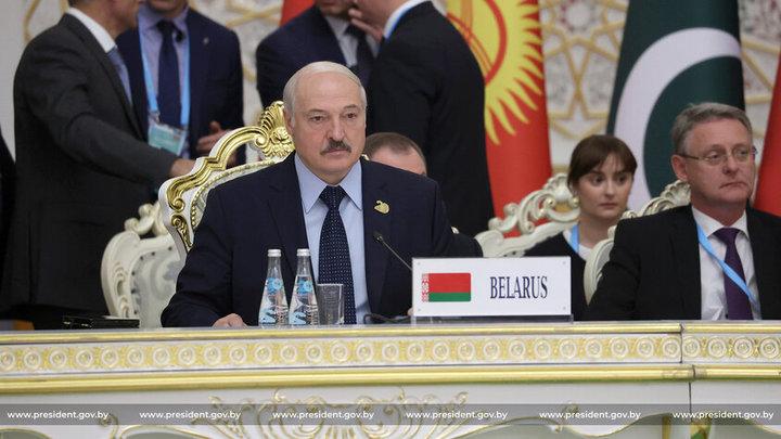 Александр Лукашенко выступил перед лидерами ШОС