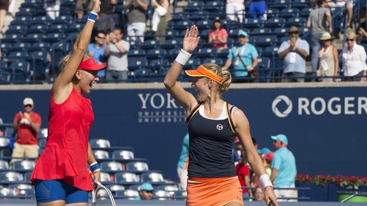 Екатерина Макарова и Елена Веснина уступили в финале турнира в Индиан-Уэллсе