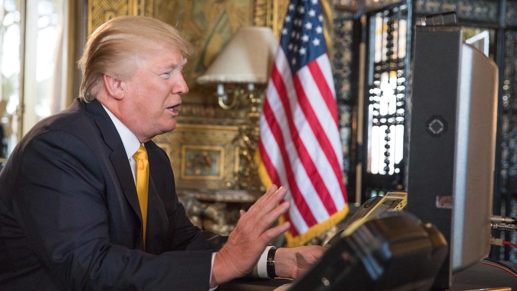 В США задержали мужчину, обругавшего кортеж Трампа