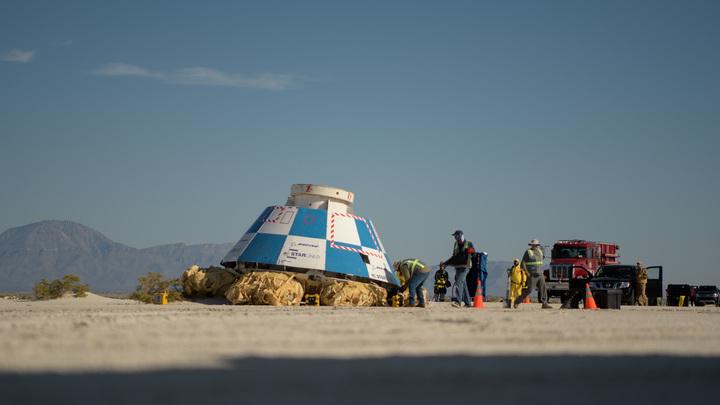 Парашют не раскрылся, да и неважно: Испытания нового космического корабля США признали приемлемыми
