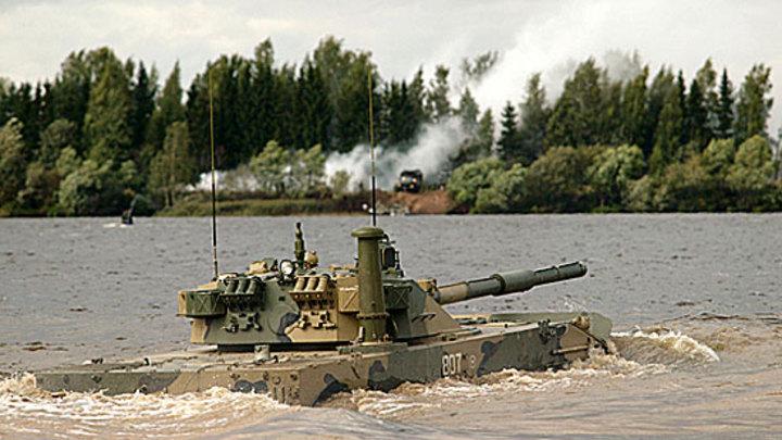 В России создают плавающий танк для жарких тропиков и высоких гор