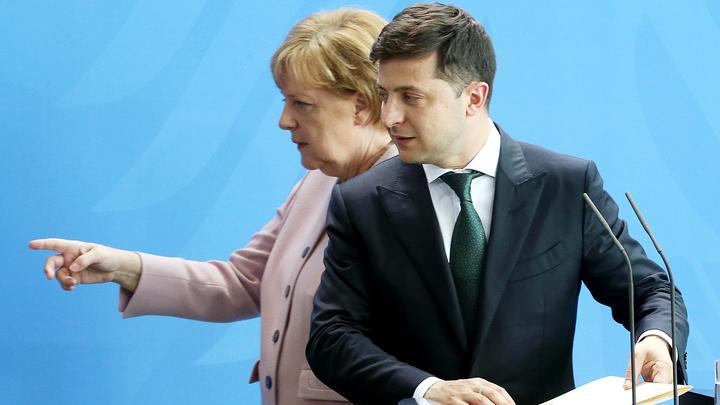 Меркель уже трясёт в его присутствии: В Берлине неоднозначно прокомментировали инициативу Зеленского