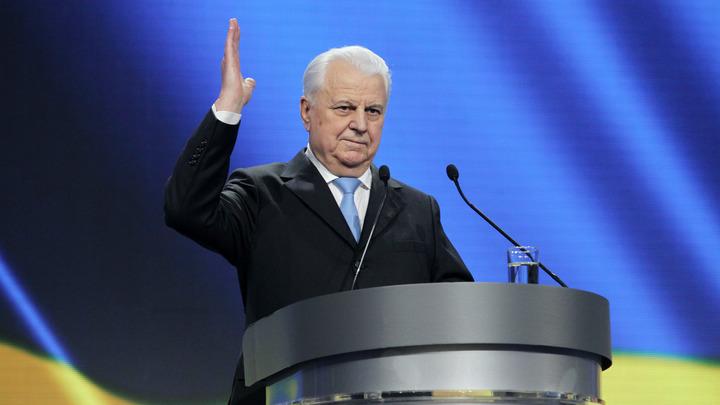 Предсказавший победу Слуги народа Кравчук попросил Кремль не принуждать Украину к миру