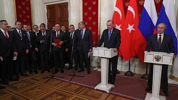 Президент Турции Эрдоган вновь воткнул нож в спину России
