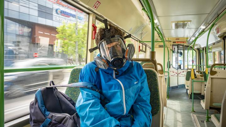 Пассажиров общественного транспорта Ростова начали штрафовать за отсутствие масок