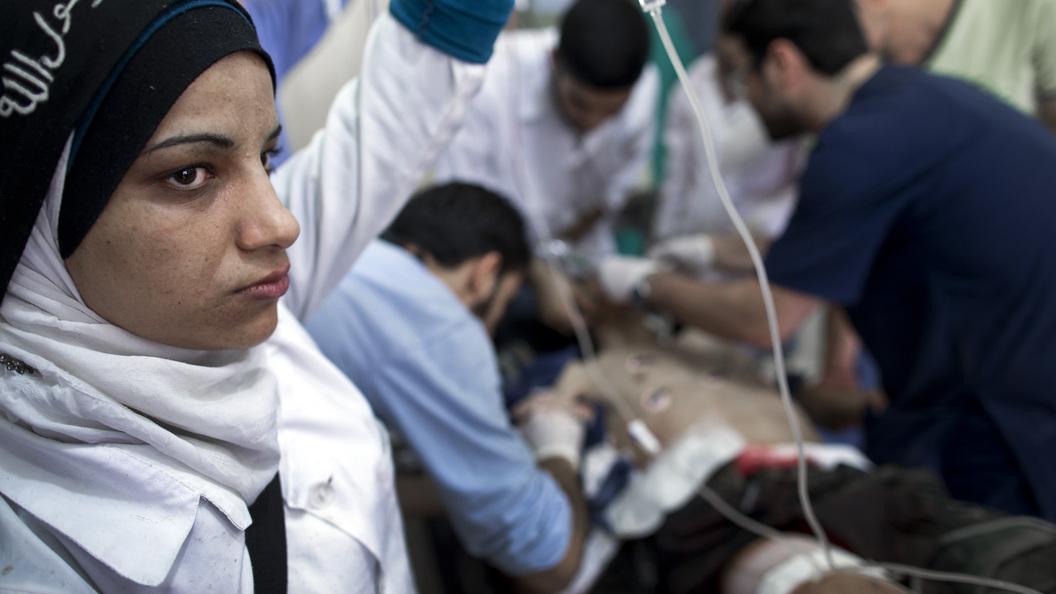 Сирийские вдовы-снайперы погубят души террористов из Исламского государства