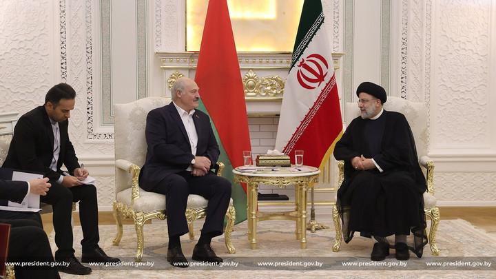 Иран и Беларусь всегда находили пути к успеху: Лукашенко встретился с Эбрахимом Раиси