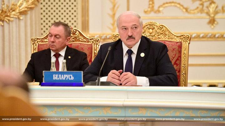 Александр Лукашенко привез на саммит ОДКБ младшего сына и собачку