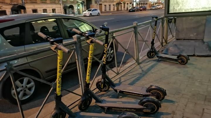 В Петербурге ограничат передвижение на электросамокатах во время Евро-2020