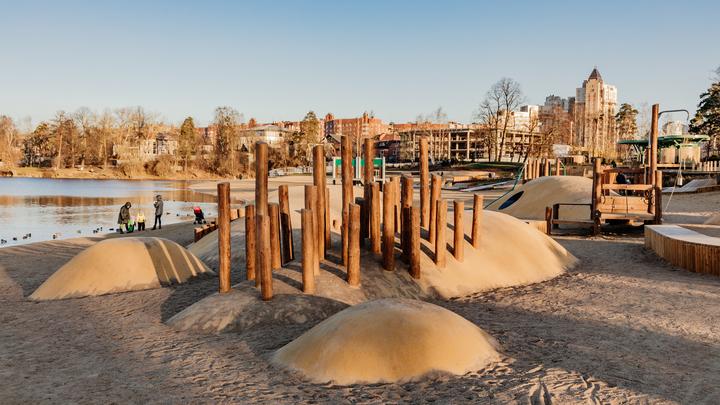 Скейт-парк, пляж и набережная Охты: в Петербурге благоустроили 30 общественных мест