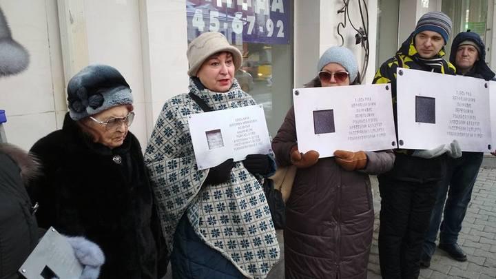 Таблички с именами репрессированных снова украли с домов Екатеринбурга