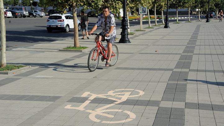 В следующем году в Новороссийске нарисуют велодорожки