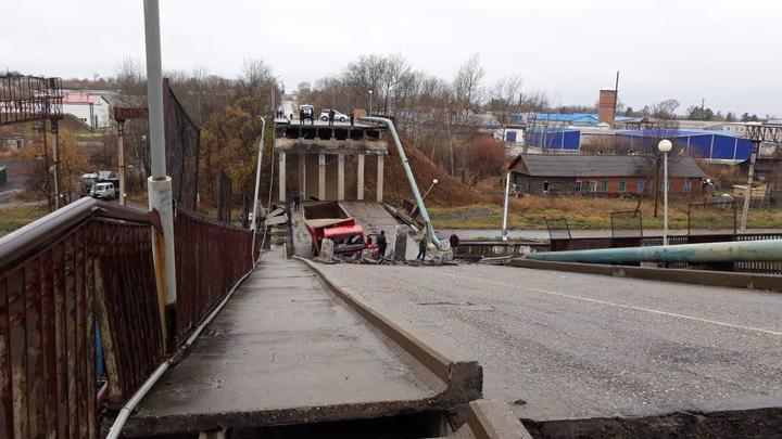 На Транссибе рухнул мост. Причины обрушения, фото и видео с места событий
