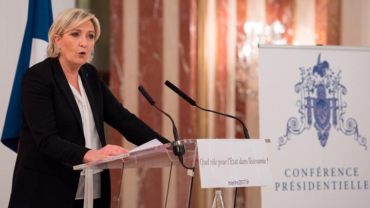 В Москве принимают совесть Франции - Марин Ле Пен