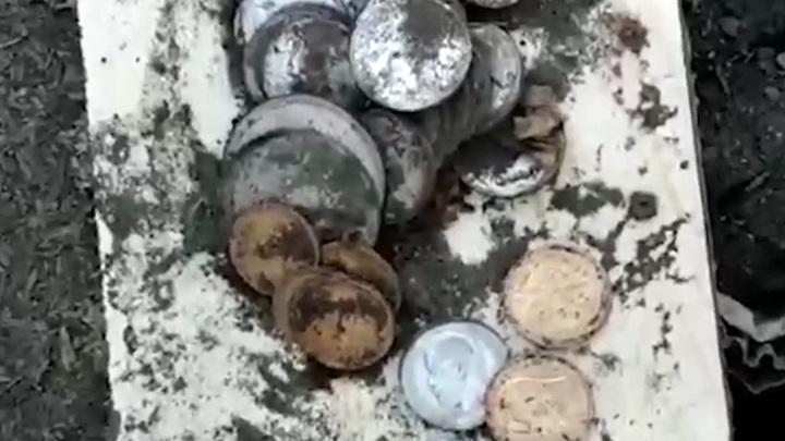В селе на границе с Монголией семья нашла клад в собственном огороде
