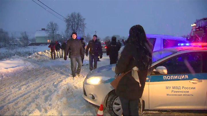 Жители Аргуново охраняли от мародеров место крушения Ан-148