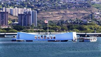 На базе Перл-Харбор ввели в строй ракетный эсминец John Finn