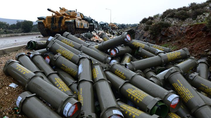 Контрнаступление курдов в Сирии: Сбиты два турецких беспилотника