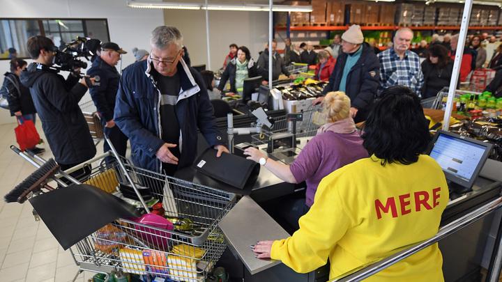 Немцы за неделю раскупили весь товар в российском магазине в Германии - СМИ