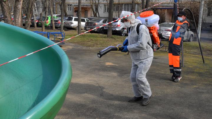 Мэрия Новосибирска закрывает детские площадки во дворах из-за коронавируса