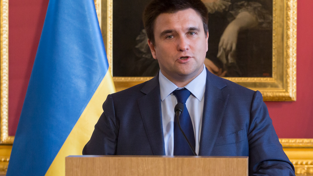 Климкин: Украина может ввести «биометрический визовый режим» сРоссией