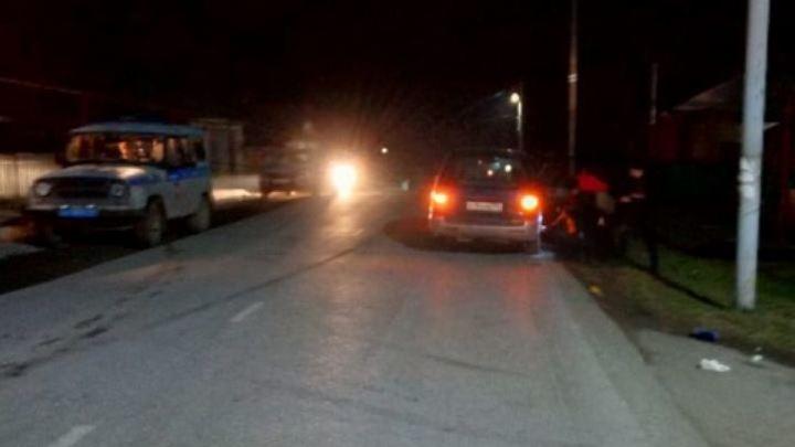 В Челябинской области автомобиль насмерть сбил пожилую женщину