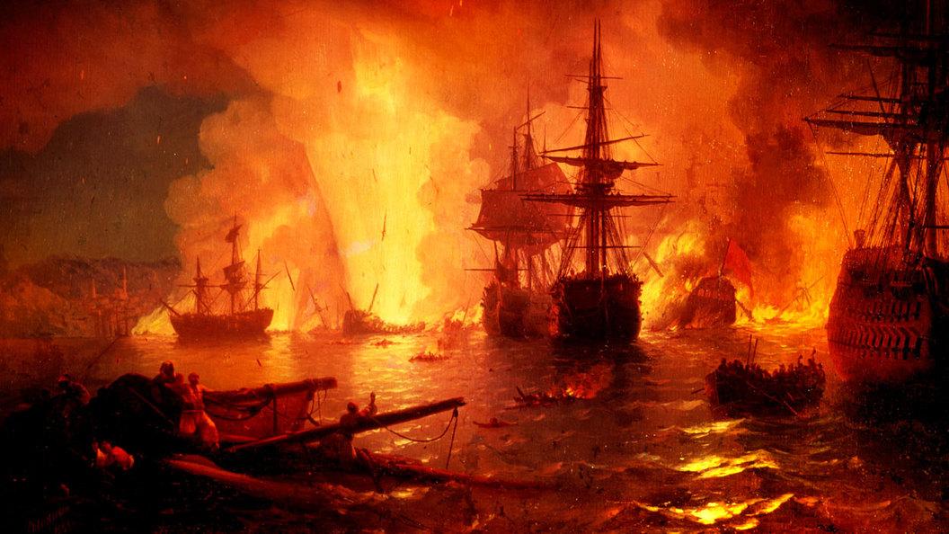Ночной кошмар для султана. Разгром турецкого флота при Чесме