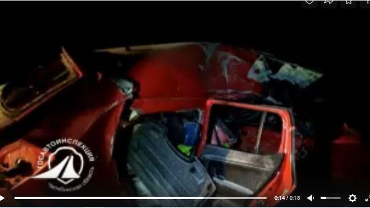 В Челябинской области снова в ДТП с фургоном на трассе погибла женщина