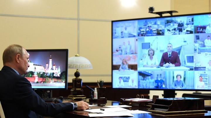 Путин рассказал о лучших в мире лекарствах от COVID-19