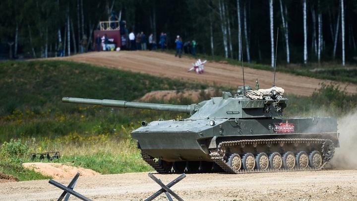 Русские десантники получат бронемашину Спрут-СД с необитаемым модулем - источник