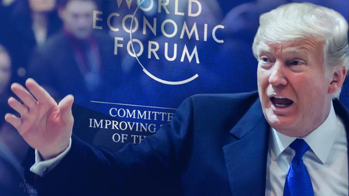 Давос припомнил Трампу вонючую дыру