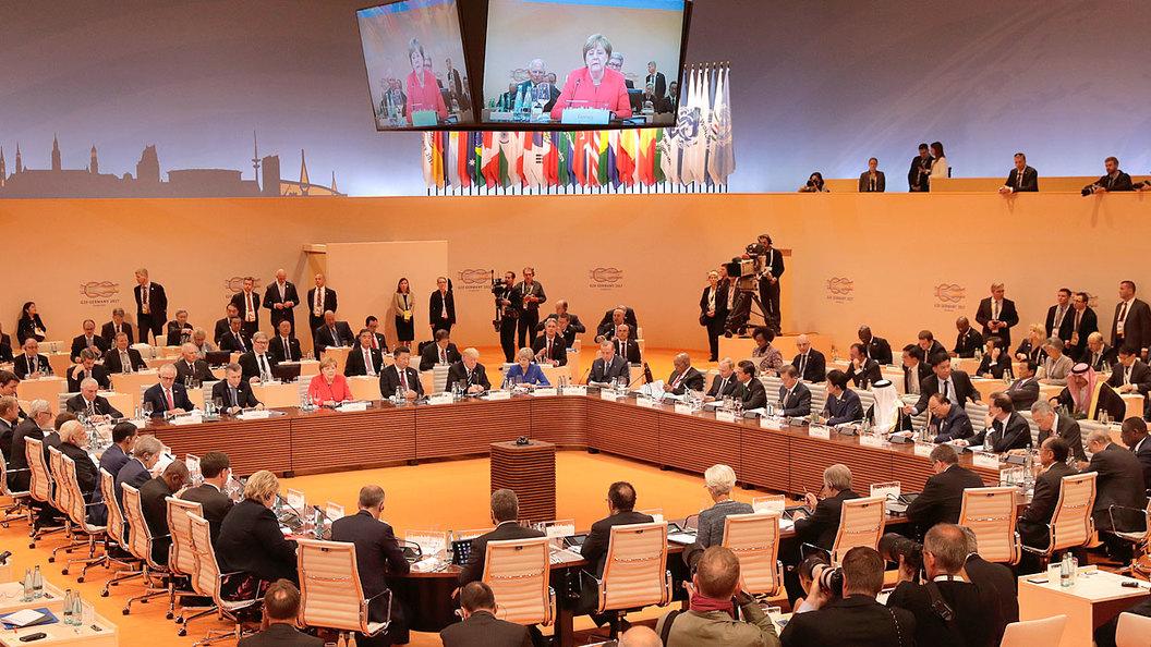 Второй день Саммита G20 в Гамбурге: ОНЛАЙН-ТРАНСЛЯЦИЯ
