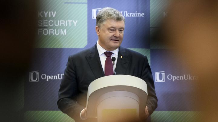 Порошенко в угоду США решился на новые санкции против России