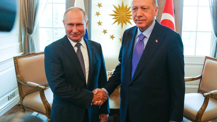 Эрдоган после разговора с Путиным вылетит в Россию