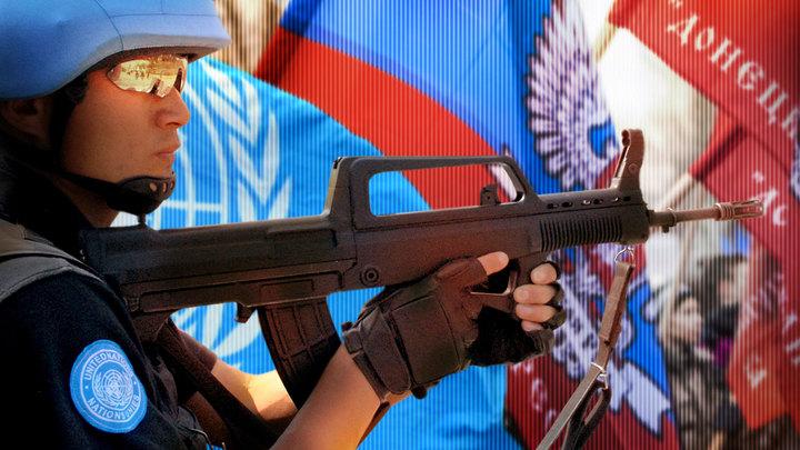 Истинные миротворцы встанут на границе Донбасса
