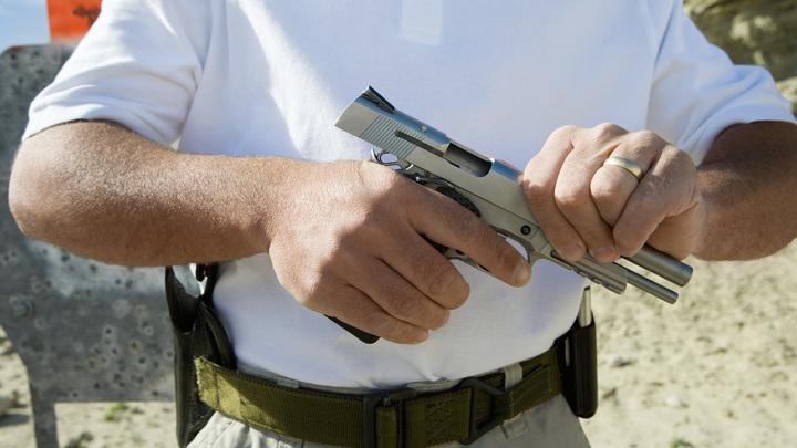 Злоумышленник обстрелял прохожих из пистолета в центре Москвы
