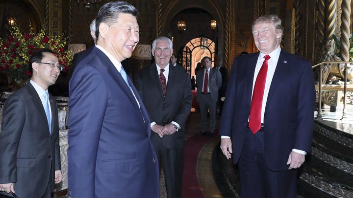 Трамп договорился с Си Цзиньпином максимизировать давление на КНДР