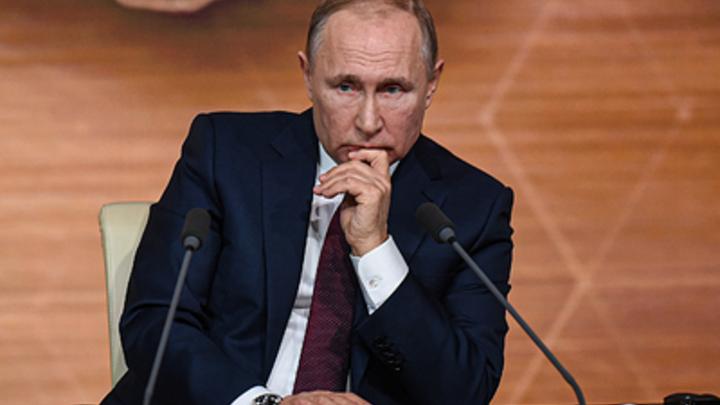 Не хочется казаться грубым, но...: Журналист попытался поймать Путина, но получил отпор