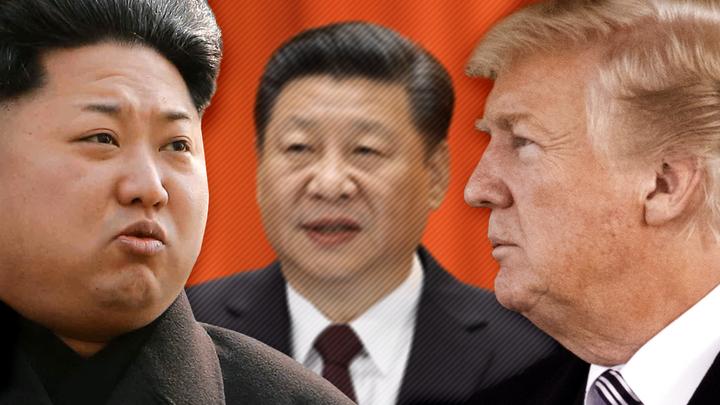 Ким будет общаться с Трампом, имея Си за спиной
