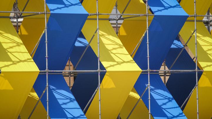 В Киеве пытались взорвать укронацистский памятник изDiablo