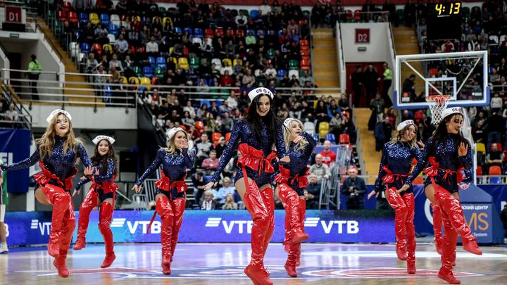 Баскетбольный ЦСКА отменил все обычные развлекательные программы на сегодняшнем матче