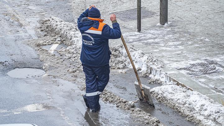 В последний день февраля Петербург ожидает снег, гололед и туман