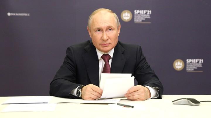 Путин: Завершена прокладка первой нитки Северного потока - 2