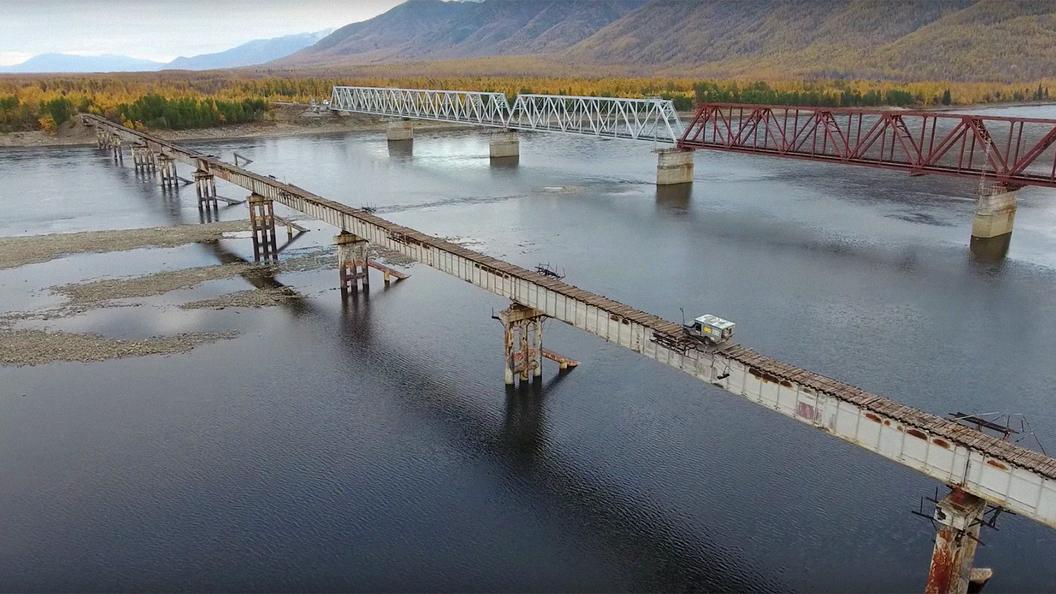 Витимский мост смыло вЗабайкалье, село Куанда отрезано отрайона